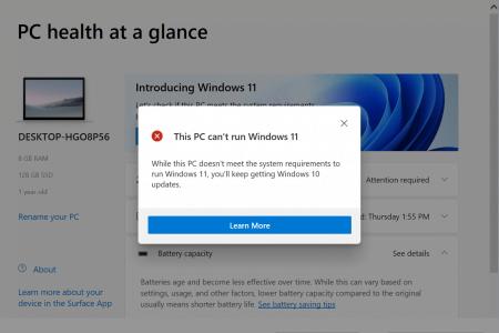 Da li ćete dobiti Windows 11 (i zašto ne)?