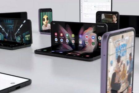 Predstavljeni novi Samsung telefoni na preklop