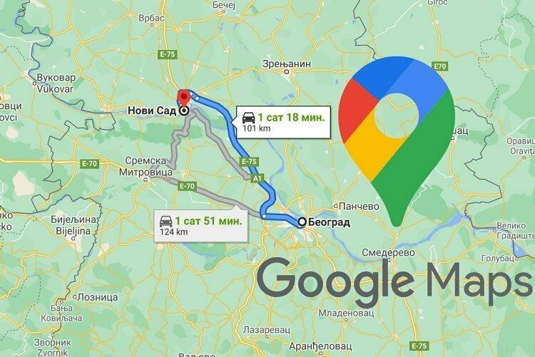 Google Mape uskoro će pokazivati cenu putarine