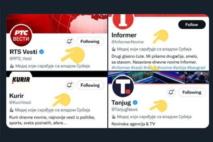Resorno ministarstvo iznenađeno potezom Tvitera