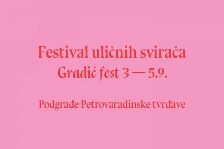 Gradić fest: Novi datum održavanja je 3. 4. i 5. septembar