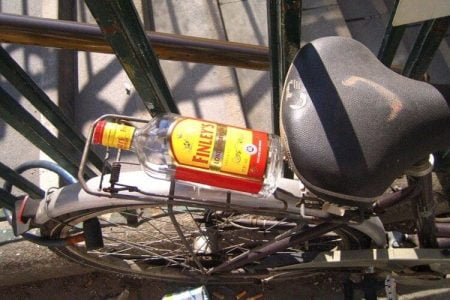 Biciklista sa 2,95 promila alkohola u organizmu